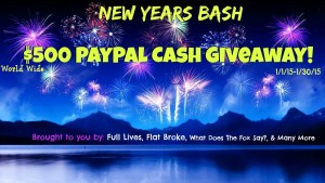 New Years Bash Cash Giveaway Fox