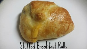 Stuffed Breakfast Rolls