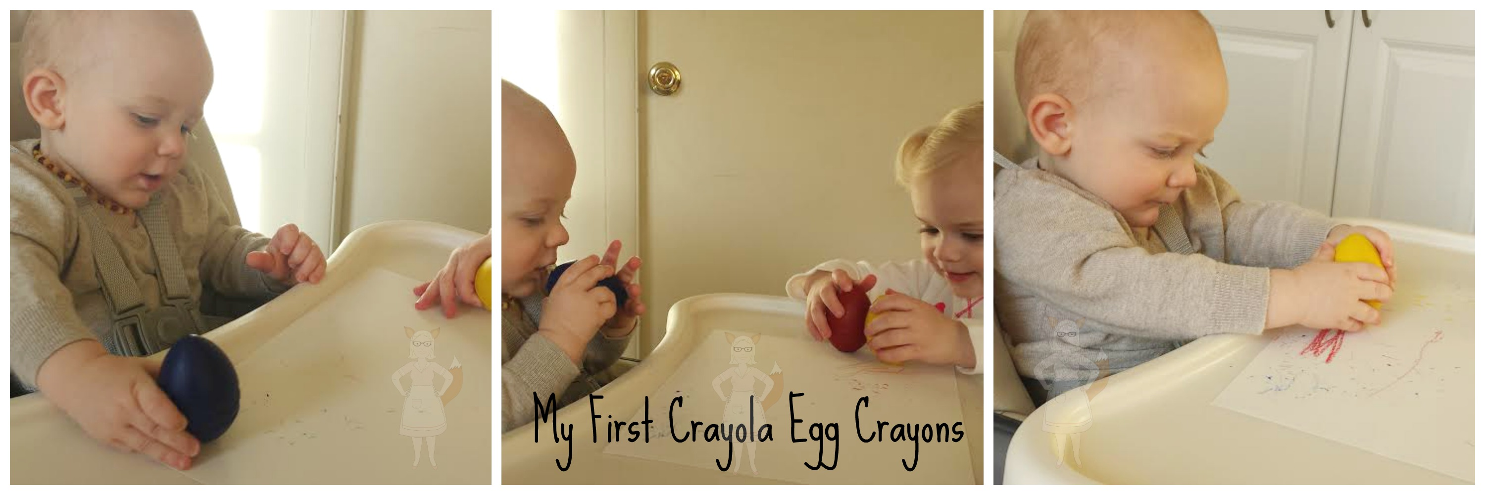 My First Crayola Egg Crayon