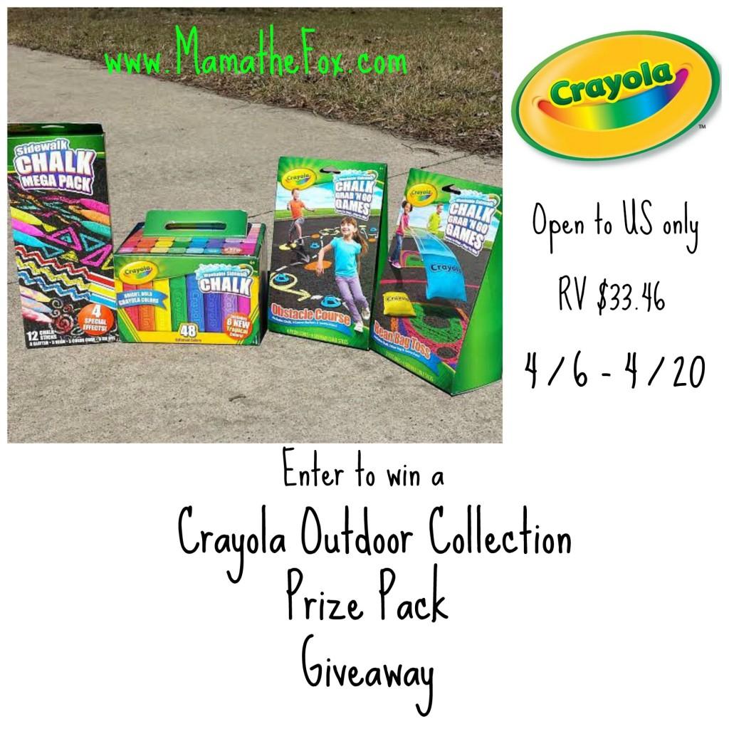 Crayola Outdoor Giveaway