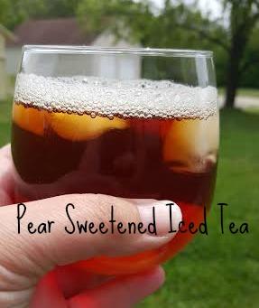 pear tea words