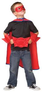 boy hero red
