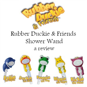 Rubber Duckie & Friends Shower Wand