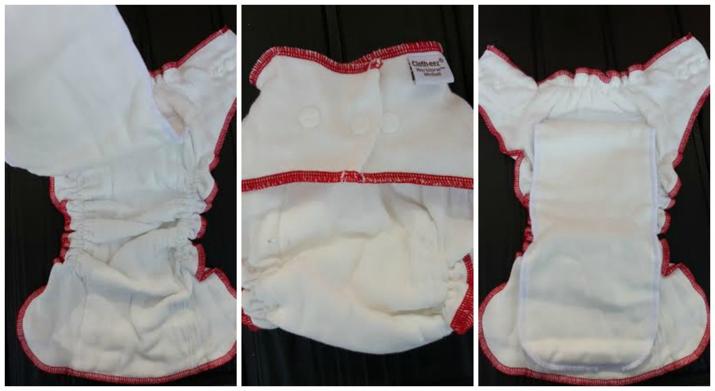 This is a Cloth-eez Workhorse Fitted Cloth Diaper