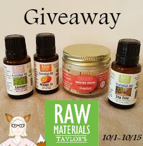raw giveaway