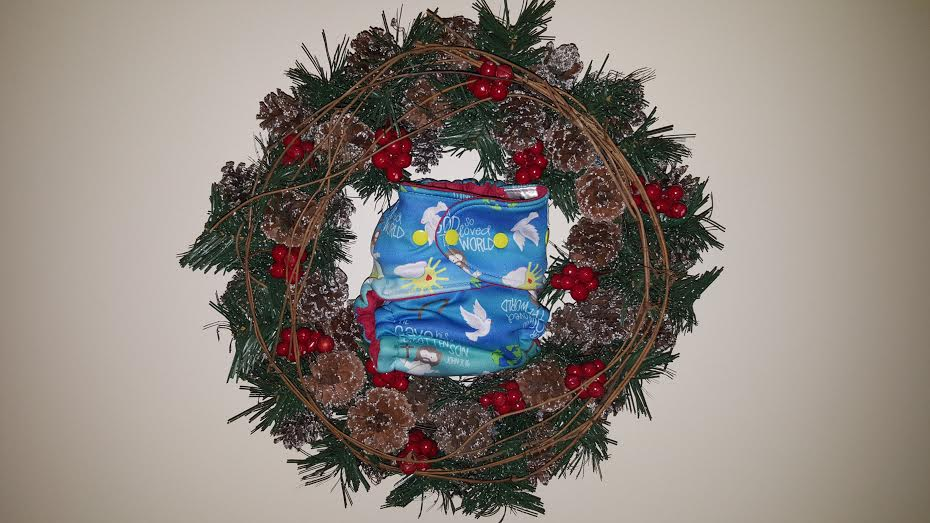 in wreath
