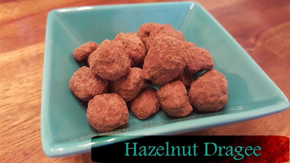 Hazelnut dragee
