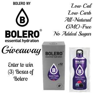 Giveaway Bolero