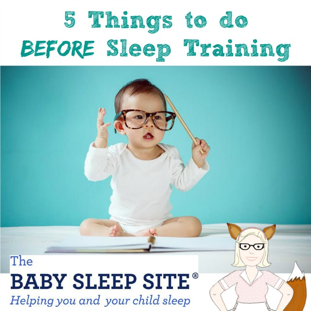 5 Things to do BEFORE Sleep Training