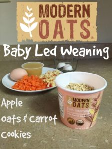 Baby Led Weaning - Apple Cookies
