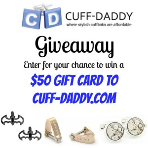Giveaway Cuff Daddy Fathers Day