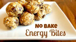 energy bites no bake