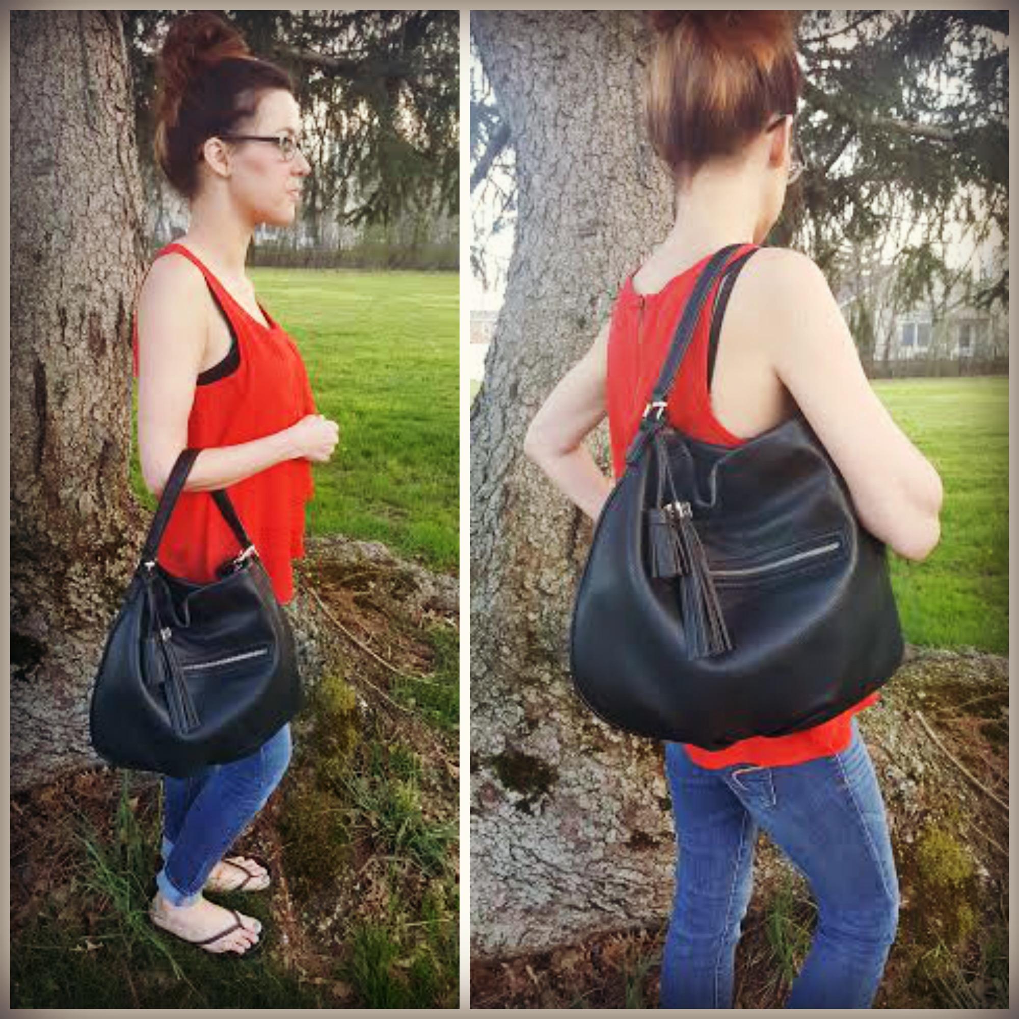 88 Handbags Jenny Bag - worn with short shoulder strap