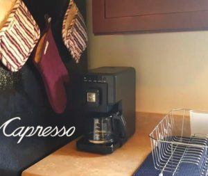 triple brew in kitchen capresso