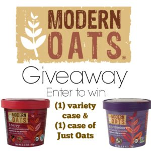 Modern Oats Giveaway – US Only