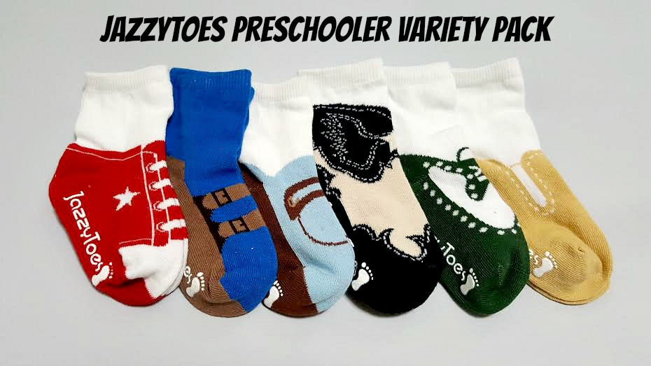 JazzyToes Boy Preschool Pack