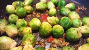 The Blonde Italian Brussel Sprouts