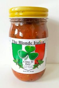 The Blonde Italian Crime In Italy Sauce