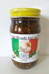 The Blonde Italian Garden Garlic