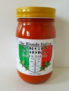The Blonde Italian Virgin Vodka Sauce