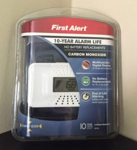 carbon monoxide packaging