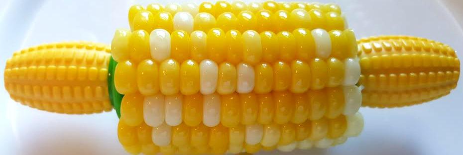 Kuhn Rikon Corn Holder in use