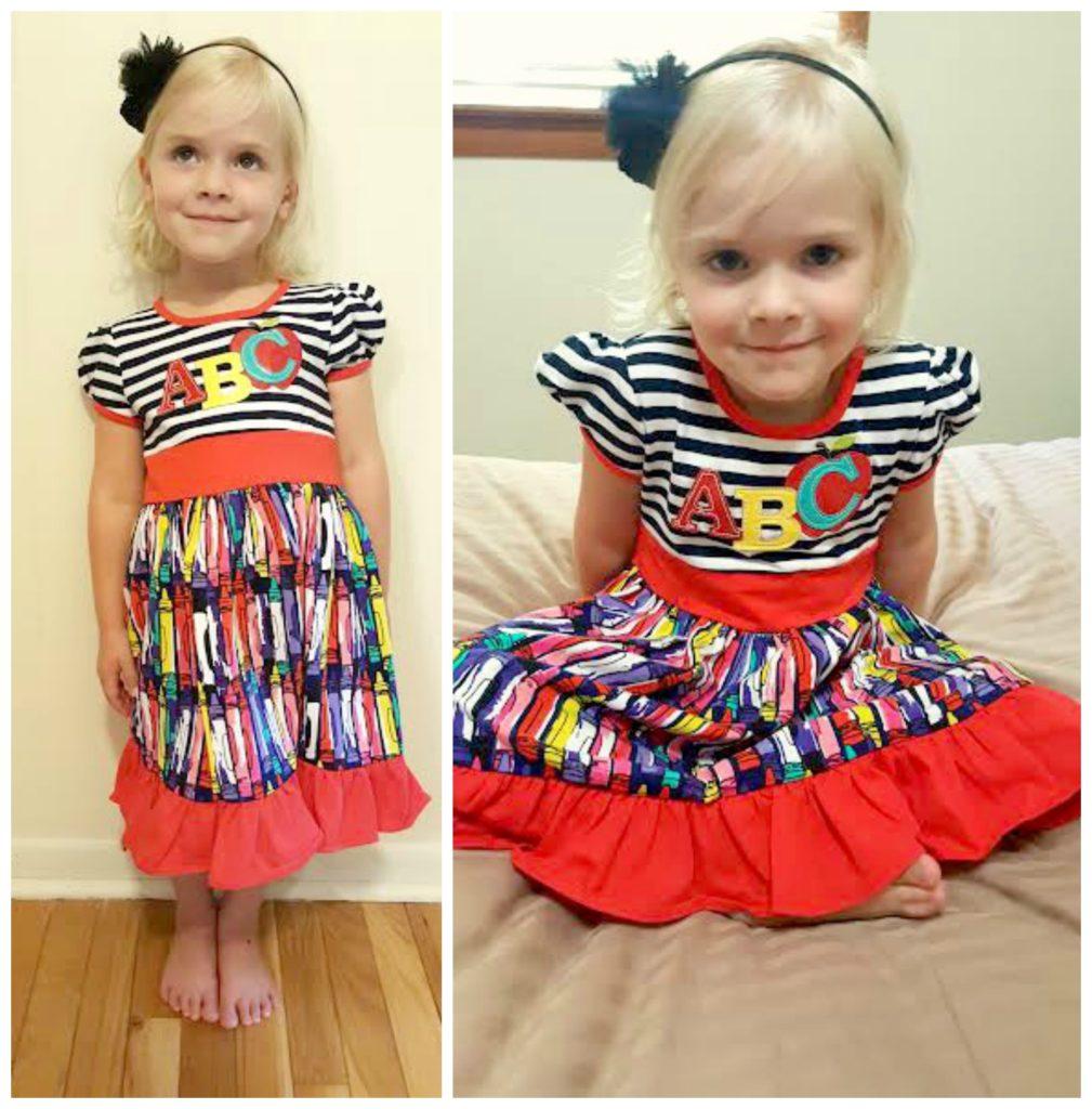 1st day of school dress