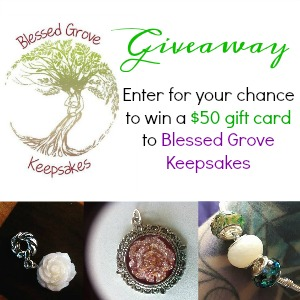Blessed Grove Giveaway 300