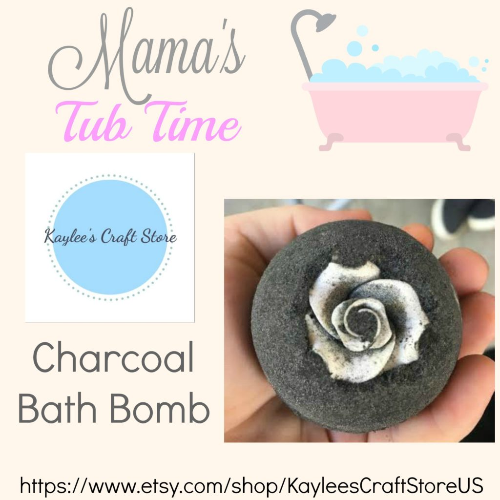 Charcoal Bath Bomb Kaylees Craft Store 2000