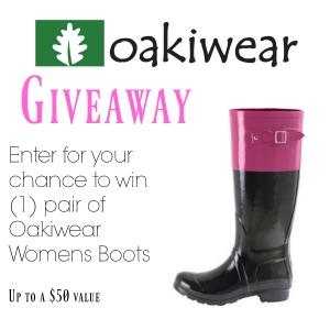 Oakiwear Womens Boots Giveaway 300