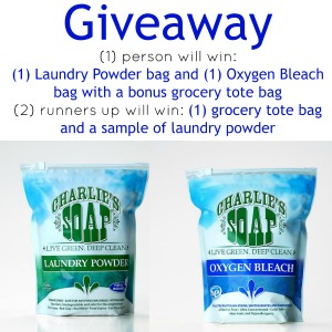 Charlies Soap Giveaway