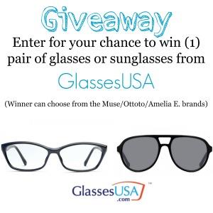 GlassesUSA giveaway