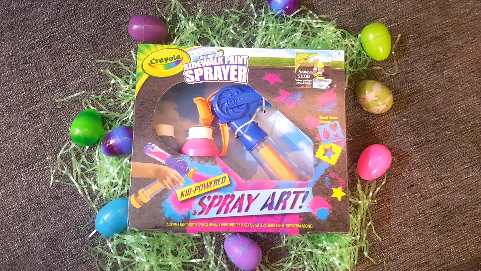 Mamathefox easter basket ideas with crayola mamathefox each year i sit and think of what are the items that my kids will be thrilled to see and actually use not end up in under the bed until garage sale negle Choice Image