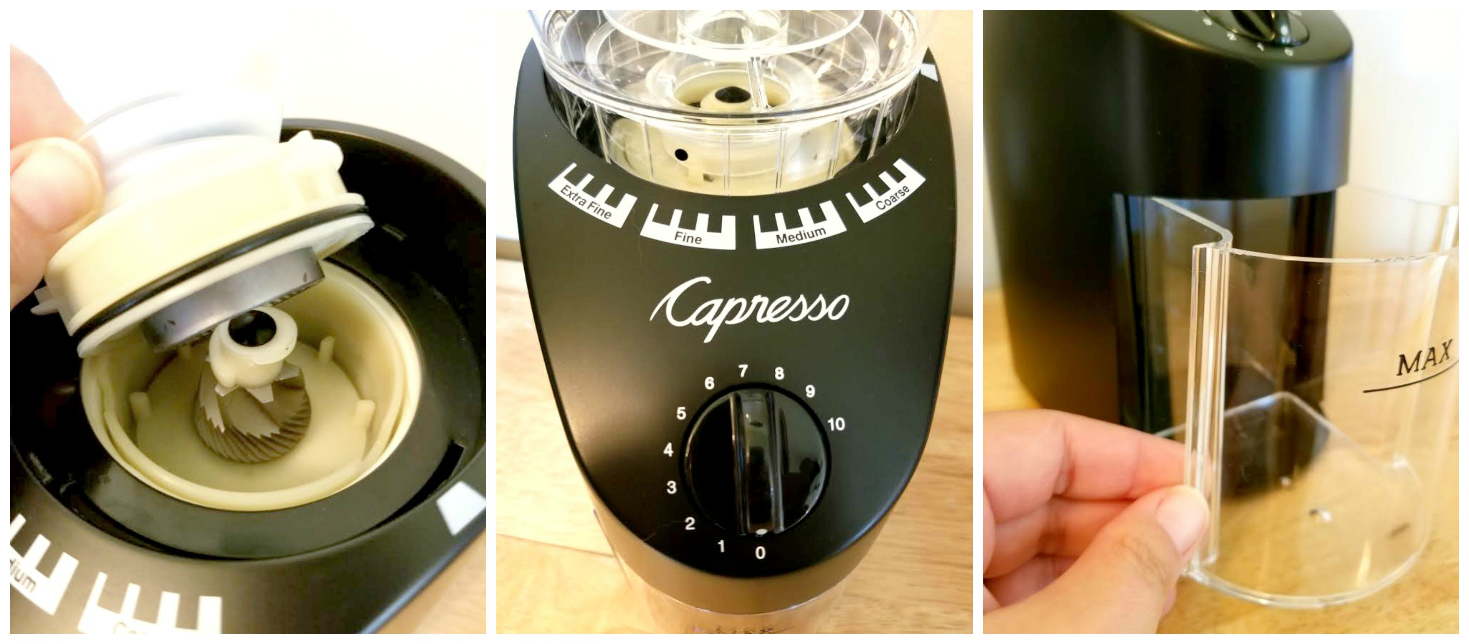 watch burr capresso grinder review hqdefault youtube infinity
