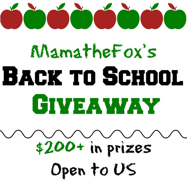 US Only Back To School Giveaway