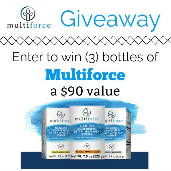 Multiforce Supplement Giveaway