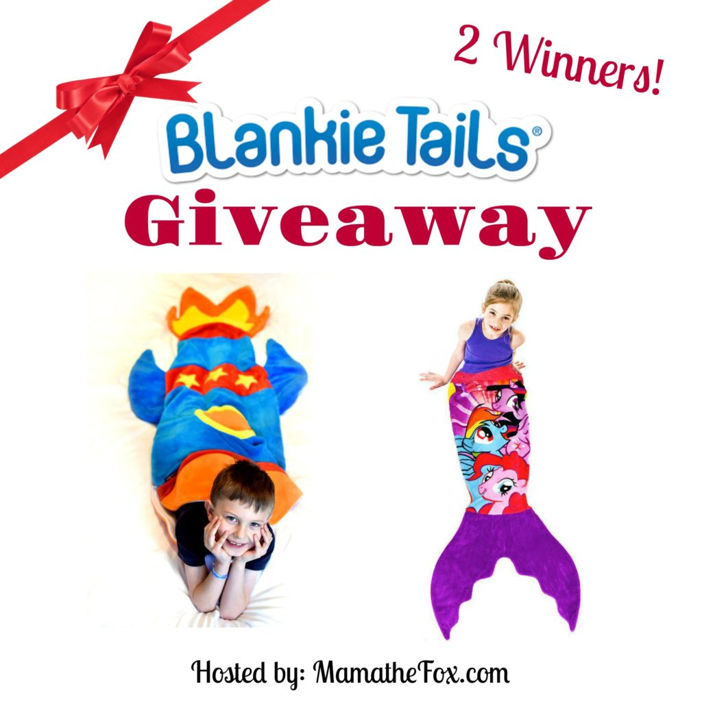 Enter the Blankie Tails Giveaway. Ends 11/14