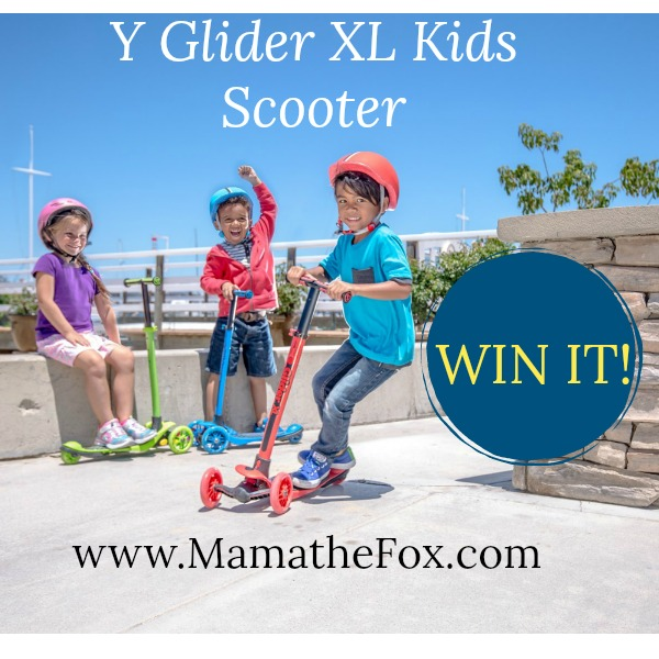 Enter the Y Volution Scooter Giveaway. Ends 12/22