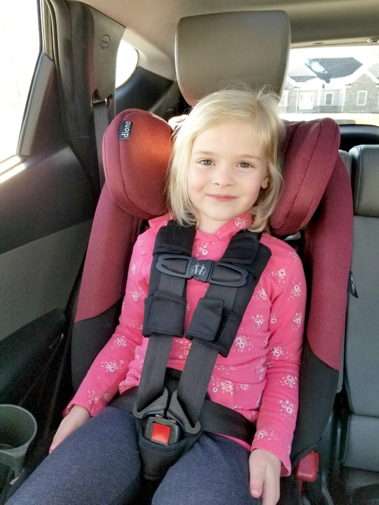 MamatheFox - Our Top Pick for a Kindergarten Aged Car Seat - MamatheFox