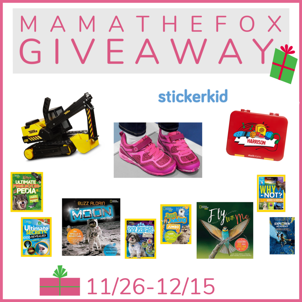 MamatheFox's Annual Holiday Kids Gift Giveaway!