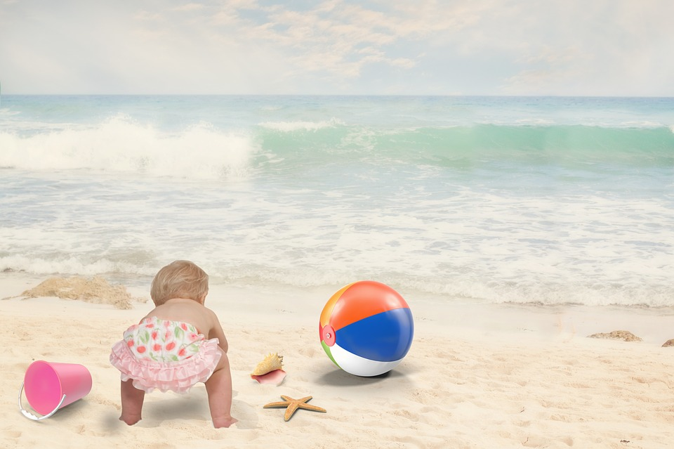 MamatheFox - Practical Tips For Baby's First Beach Trip ...